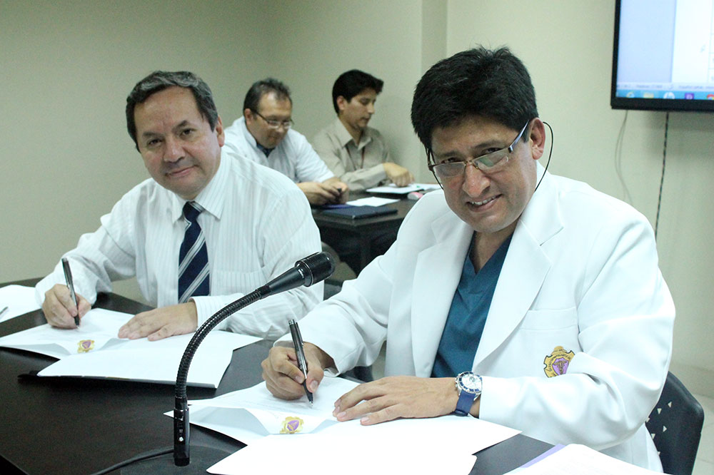 COP y CODIRO firmaron un convenio de cooperación y gestión de la administración de recursos cuyo objetivo es viabilizar el proceso del Residentado Odontológico que actualmente se encuentra en marcha.
